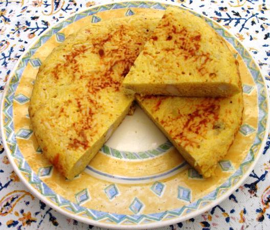 Las Rozas, Spanien: Tortilla de Arroz con Pollo