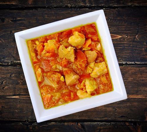 Las Rozas, Spanien: Pechuga de Pollo en Salsa con Almendras