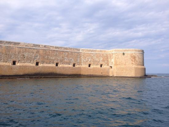 Castello Maniace : From the Sea