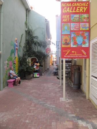 The small streets of Punda