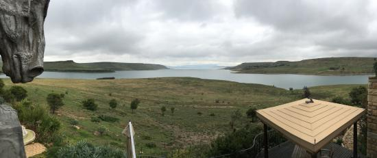 Wild Horses Lodge: View from the deck