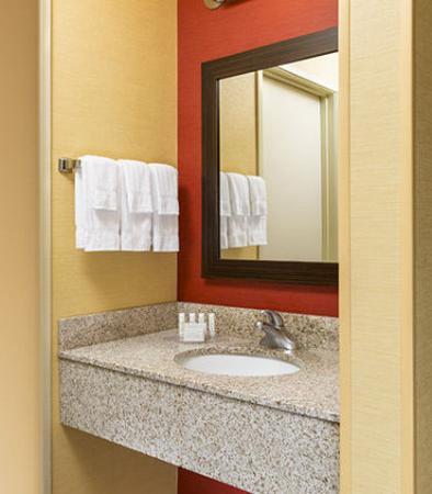 Акрон, Огайо: Suite Bathroom