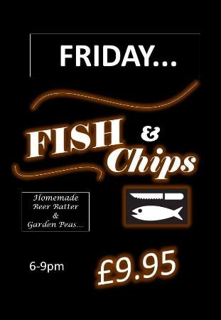Burford, UK: Fish Friday