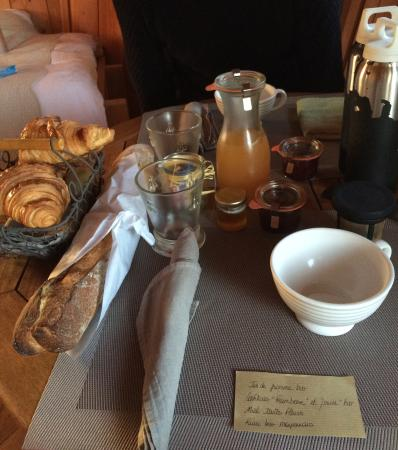 Craon, Francja: Petit déjeuner !