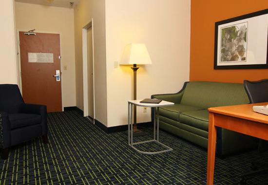Saint Cloud, MN: Executive King Sitting Area