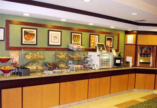 Ukiah, CA: Breakfast Bar
