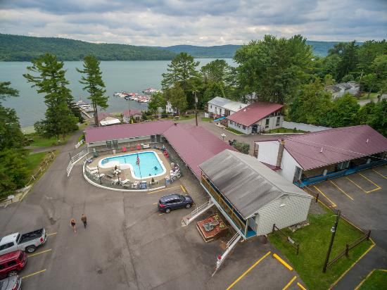 Lake N Pines Motel: Aerial of our Property