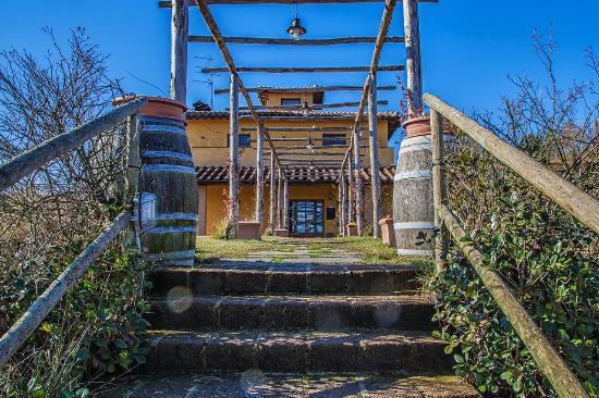 Barberino Val d'Elsa, Italie : Entrata Struttura