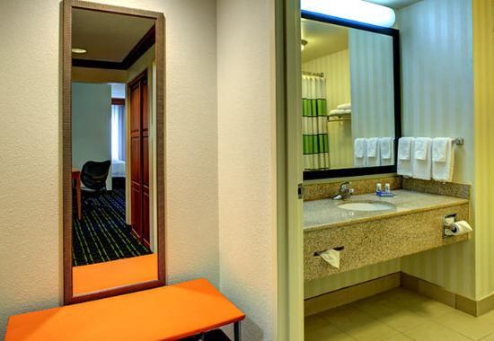 Fletcher, Kuzey Carolina: Suite Bathroom