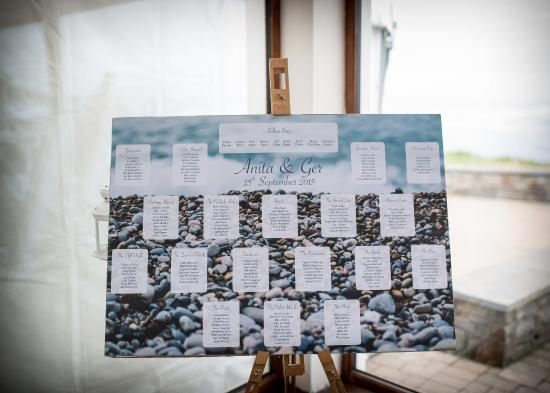 Kilkee, Irland: Table Plan