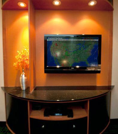 สตีเวนส์พอยต์, วิสคอนซิน: Executive King Suite Entertainment Center