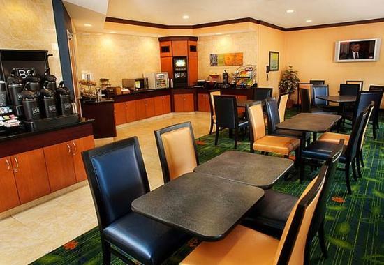 Mesquite, Teksas: Breakfast Area