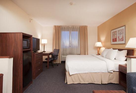 Λίβερπουλ, Νέα Υόρκη: Executive King Guest Room Sleeping Area
