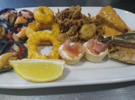 L'Armentera, Espagne : Pica pica menú de 22€