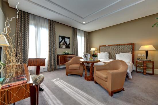 Grand hotel via Veneto: deluxe room