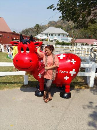 Cha-am, Tajlandia: A lazy dayat the farm.