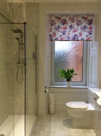Ardrossan, UK: Shower Room