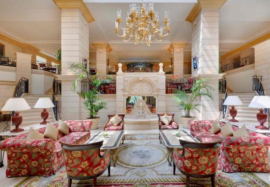 Marriott Amman Hotel: Lobby