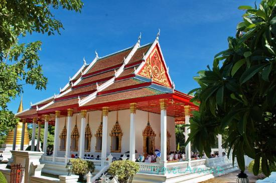Chonburi, Thaïlande : พระอุโบสถ