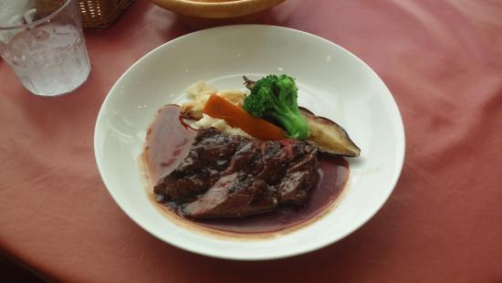 Machida, Giappone: メインディッシュは牛ハラミ肉のグリル、プラス108円のメニューです。
