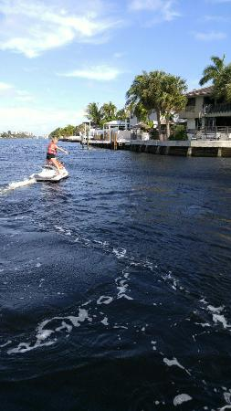 Pompano Beach, FL: A fantastic day on the water kevin was the absolute best!