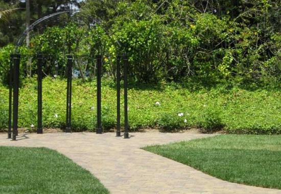 Fullerton, Kalifornien: Gazebo & Walkway