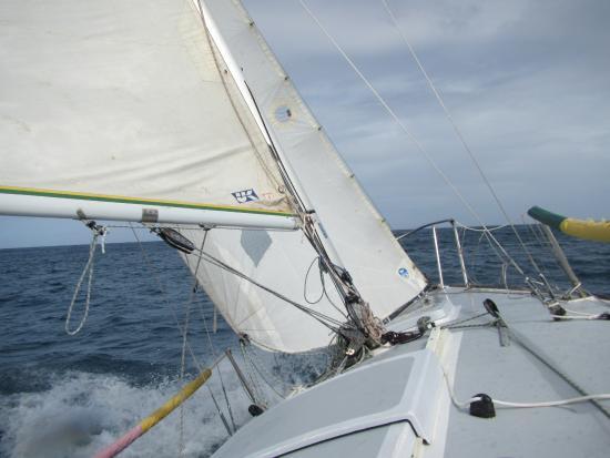 Cap Estate, Sta. Lucía: Sailing instructional boat ride
