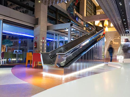 barcelo hotel slide from first floor picture of barcelo malaga rh tripadvisor ie