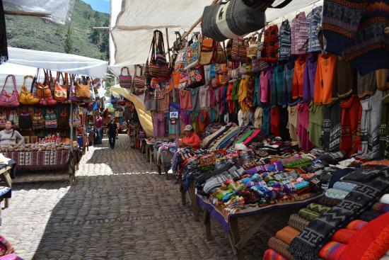 Pisac, Perú: Mercado