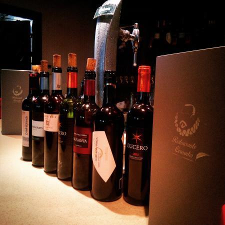 Cervantes: vinos ricos ricossss