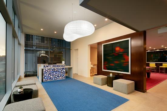 เมนโลพาร์ก, แคลิฟอร์เนีย: Hotel Lucent - Lobby