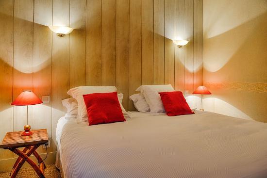 Hotel La Closerie : chambre double supérieure