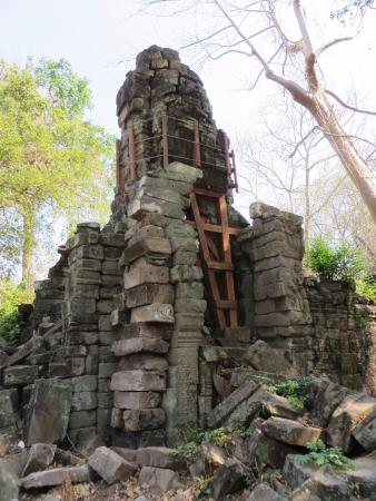 Banteay Meanchey Province, Cambodja: Repair work
