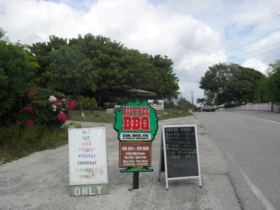 Gun Bay, Wielki Kajman: Pull in as side of the road on the east side.
