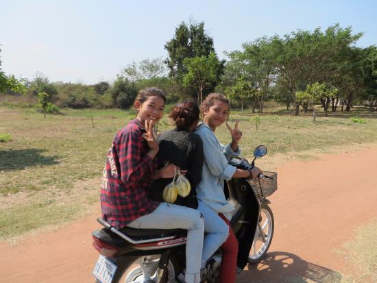Banteay Meanchey Province, Cambodja: Friendly locals