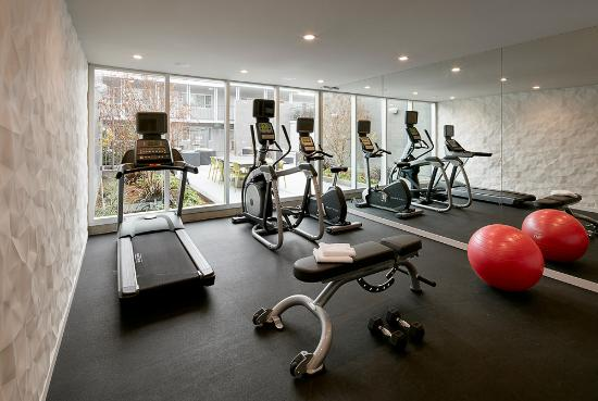 Menlo Park, CA: Hotel Lucent - Fitness Room