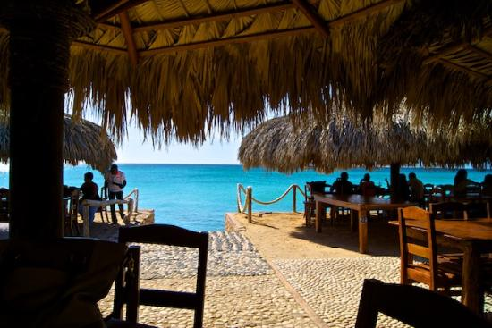 Cabo Rojo, Δομινικανή Δημοκρατία: view from our table