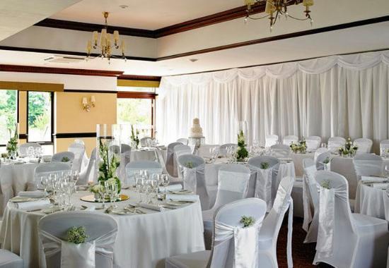 Morley, UK: Wedding Setup