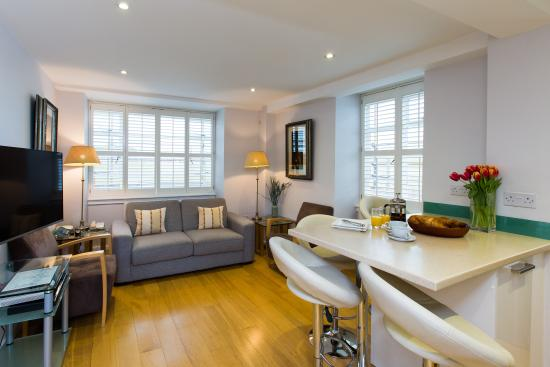 Nell Gwynn House Apartments: modern style large one bedroom