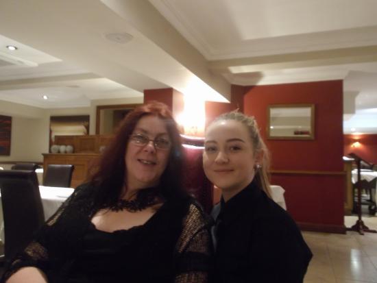 Villiers Hotel: Lovely Waitress Millie & Me
