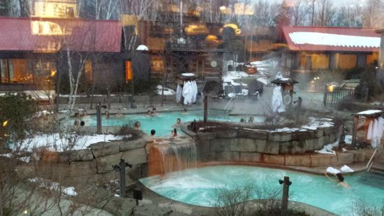 Scandinave Spa At Blue Mountain Picture Of Scandinave Spa At Blue Mountain Blue Mountains