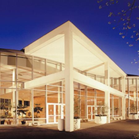 University of Georgia Center for Continuing Education & Hotel: Lumpkin Plaza entrance