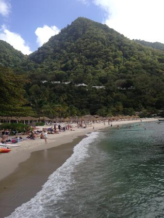Vieux Fort, St. Lucia: More of Jalousie Beach