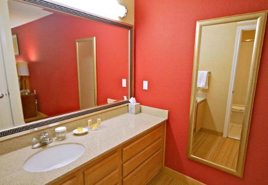 Mountain View, Kalifornien: Studio Suite Bathroom