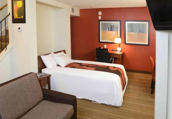 Amherst, estado de Nueva York: Bi-Level Penthouse Suite - Sleeping Area