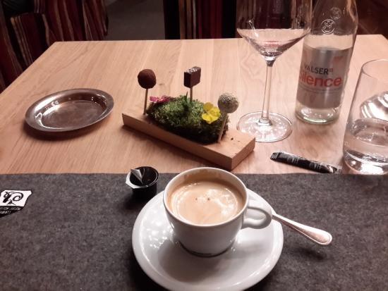 s sser abschluss zum kaffee f r externe g ste picture of alpenhof zermatt tripadvisor. Black Bedroom Furniture Sets. Home Design Ideas