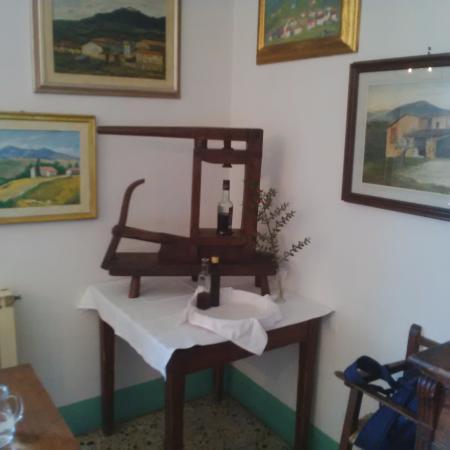 Pratolino, Italia: Angolo della sala