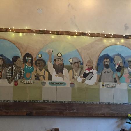 Nevada City, Kalifornia: Los Mineros last supper