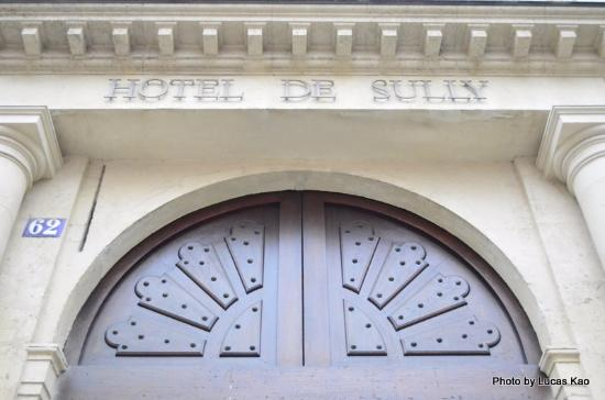 Paryż, Francja: Jardin de l'Hotel de Sully
