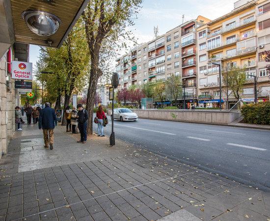 Street at the Macia Condor